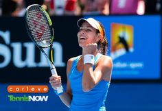 Ana Ivanovic Shocks Serena Williams at Australian Open - Tennis Now