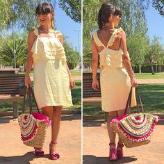 Vestido Asos - Temporada: Primavera-Verano - Tags: ootd, look, dress, yellow, asos, fashion, - Descripción: Look con vestido especial de Asos. #FashionOlé
