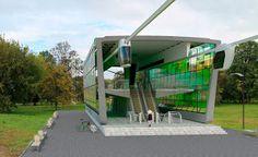 «Rail SkyWay systems» - Струнный Транспорт Юницкого: Струнные рельсы лёгкой трассы SkyWay установлены