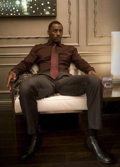 Class Idris Elba, Luther, Black Is Beautiful, Gorgeous Men, Par Ideal, Handsome Black Men, Black Man, Raining Men, Well Dressed Men