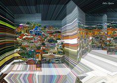https://flic.kr/p/vMcYkv | Espaço tridimensional com casas