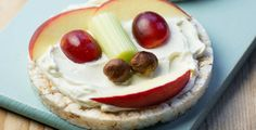 Nutty apple and celery rice cakes Rice Cake Recipes, Rice Cakes, Toddler Recipes, Toddler Meals, No Sugar Foods, Cooking With Kids, Celery, Camembert Cheese, Cheesecake
