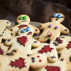 Halloween-Kekse (Rezept)