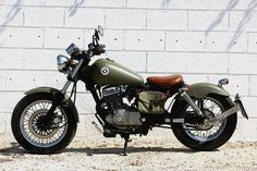 "Wheels Garage: Suzuki Marauder 125 ""Pocket Bobber"""
