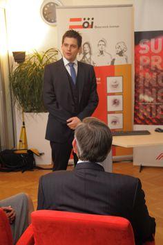 12.11.2013 Wirtschaftstreffen Richard Hahn, Österreich Institut