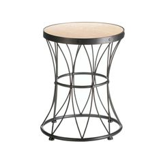 Metal Frame Accent Stool #newproducts #stools #metalfurniture #accentstool
