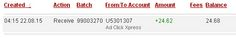 ADCLICKXPRESS – ACX IS AWESOME AND HERE IS MY PAYMENT NR.18! NO SCAM HERE!! I am setting my proof withdrawal from the money I earned at ACX Making my daily earnings is fun, and makes it a very profitable! Work from home at ACX. http://www.adclickxpress.com/?r=eh6qw6keb3ja&p=aa