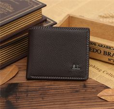 Cool Men's Faux Leather Clutch Pockets Wallet ID Bifold Credit Card Holder Purse Leather Clutch, Pu Leather, Mens Waist Bag, Man Purse, Pocket Wallet, Famous Brands, Leather Fashion, Luggage Bags, Purses