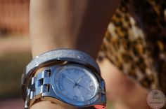 Silver Accessories - Watch and Bangle