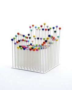 Abstrakter Stuhl #stuhl #chair #chairdesign #designinspiration