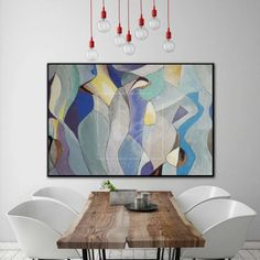 This abstract painting will adorn any modern interior and transform your home style! The artwork is perfect choice for living room, dining room or hallway. Each painting we create is one of a kind and it will be made special for YOU.* Handmade oil acrylic painting* Express shipping 3-5 days worldwide* Any size up to 10