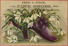 Vintage Shoe Advert