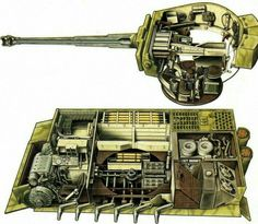 German Tiger I interior
