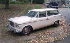 This '59 Lark wagon looks great and the seller is asking $7,900. Would you keep it stock, or... #Studebaker