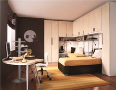 Built-in-storage-in-Bedroom