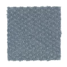 Greenhurst style carpet in Bluebell color, available wide, constructed with Mohawk SmartStrand carpet fiber.