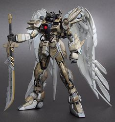 MG 1/100 Wing Gundam Zero Diablo Archangel - Custom Build