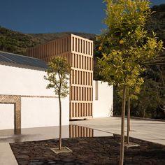 the Water Museum in the Lanjarón municipality of Granada, Spain y Juan Domingo Santos