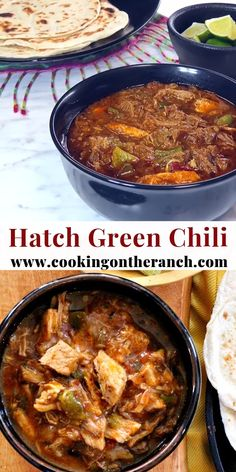 Hatch Green Chili Colorado Style features roasted pork shoulder and plenty of wa. - Hatch Green Chili Colorado Style features roasted pork shoulder and plenty of warming spices. Pork Recipes, Mexican Food Recipes, Cooking Recipes, Pork Chili Recipe, Roasted Green Chili Recipe, Crazy Chili Recipe, Recipe Stew, Real Mexican Food, Chorizo Recipes