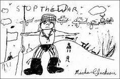 """Espaço Michael Jackson: Michael Jackson - """"Fim à Guerra"""""""