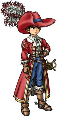 View an image titled 'Armamentalist Male Art' in our Dragon Quest IX: Sentinels of the Starry Skies art gallery featuring official character designs, concept art, and promo pictures. Character Concept, Character Art, Concept Art, Character Design, Dragon Quest X, Chrono Trigger, Dragon Warrior, Blue Dragon, Fantasy Illustration