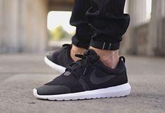 Nike Roshe Run TP Cool Grey & Black post image || Follow @filetlondon for more street wear #filetlondon