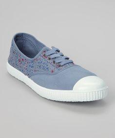 This Azul Inglesa Elast Tint Estamp Sneaker by Victoria is perfect! #zulilyfinds