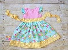 Who's ready for spring? Baby, Toddler and Girls sizes available. Butterfly Dress  by GirlWithATwirl