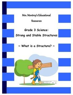 This is the first lesson from my compete unit on Strong and Stable Structures… Science Club Activities, Science Lesson Plans, Science Lessons, Teaching Science, Science Curriculum, Science Ideas, Teaching Ideas, Primary Science, Third Grade Science