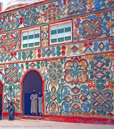 Africa | Emir of Zazzau Palace facade in Zaria, Nigeria | © Jean Pierre Jeannin.