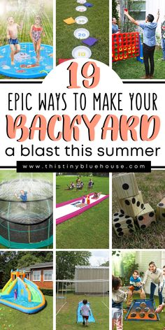 Gentle Parenting, Kids And Parenting, Parenting Hacks, Lawn Games, Backyard Games, Backyard Ideas, Summer Fun, Summer Time, Summer Ideas