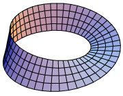 The Mobius Strip is a recurring object in my sci-fi novel, Scarlet Begonias.