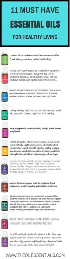 11 Must Have Essential Oils | The Oil Essentials | How-Tos of Young Living Essential Oils by Sugarbean
