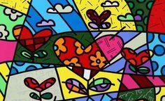 Graffiti Art, Arte Country, Valentines Art, Artwork Images, Heart Art, Art Plastique, Art Lessons, Sculpture Art, Pop Art