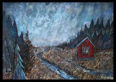 Contemporary Landscape Paintings Inspired by Nature Art My Point Of View, Contemporary Landscape, Landscape Paintings, Scandinavian, Give It To Me, Adventure, Inspired, Artist, Nature