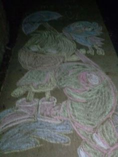 First chalk drawing!