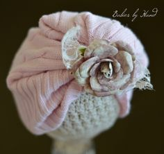 Image of MADGE Upcycled Newborn Slouch Hat