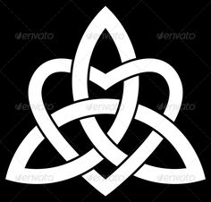 Celtic Trinity knot (Triquetra) — JPG Image #tattoo #ancient • Available here → https://graphicriver.net/item/celtic-trinity-knot-triquetra/6573782?ref=pxcr