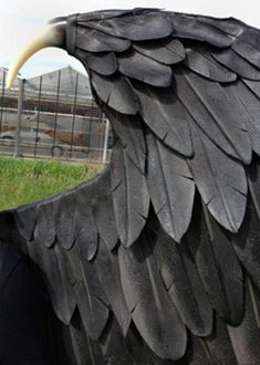 Large Maleficent cosplay wings for Adult, animal friendly black fairy custom-made costume wings Hand made by Tentacle Studio Maleficent Cosplay, Maleficent Wings, Malificent Costume Diy, Maleficent Halloween, Halloween 2016, Diy Halloween Costumes, Halloween Cosplay, Costume Ideas, Cosplay Wings