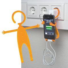 außergewöhnlicher Werbeartikel, Handyhalter Lodsch, http://www.das-werbeartikel-portal.de/handyhalter_lodsch_orange_340528.html