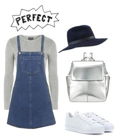 """✌"" by mirandasimondson ❤ liked on Polyvore featuring Topshop, Kin by John Lewis, rag & bone and adidas Originals"