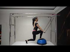 Pilates - Fortalecimento de Glúteos com auxilio do BOSU - YouTube   pilatescore beaca73c9618a