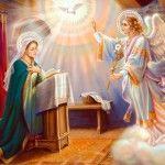Праздник Благовещение Пресвятой Богородицы. Что приготовить на стол в Благовещение  Праздник Благовещение Пресвятой Богородицы. Что приготовить на стол в Благовещение (7 апреля 2012 года) – это праздник в память о вести благой, которую принес архангел Гавриил Деве Марии.  Божий посланник рассказал, что скоро она станет Матерью Спасителя всего человечества.