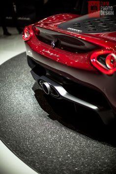 Ferrari Sergio, the materialization of the Pininfarina concept ...