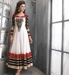 Looking to buy Anarkali online? ✓ Buy the latest designer Anarkali suits at Lashkaraa, with a variety of long Anarkali suits, party wear & Anarkali dresses! Designer Anarkali Dresses, Designer Dresses, Indian Wedding Outfits, Indian Outfits, Diwali, Festivals, Desi Clothes, Indian Clothes, Trendy Sarees