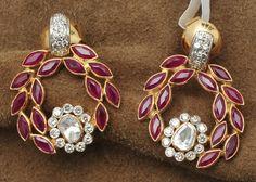 ruby-emeralds-uncut-gold-jhumkas-by-manjula-rao