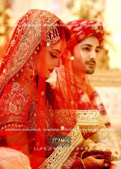 Asian wedding fashion brings the color of wedding festival from Asia to your phone.Asian wedding fashion gives you -- Bridal Dresses Collection-- Groom Dresses Collection-- Venue Decoration ideas -- Aiza Khan Wedding, Desi Wedding, Wedding Bride, Bride Groom, Pakistani Bridal, Indian Bridal, Bridal Dupatta, Punjabi Bride, Bridal Looks