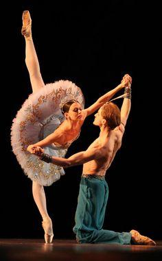 "Anastasia and Denis Matvienko, ""Le Corsaire"", Mariinsky Ballet at Dance Open Ballet Festival, April 2012, Saint Petersburg, Russia"