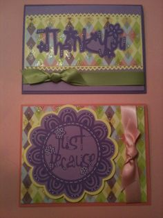 cards made with cricut cartridge paper lace | visit cricut com