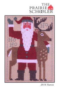 """The """"Prairie Schooler Santa 2016"""" is here!"""